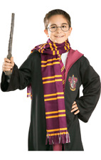 Harry Potter Wizard Hogwarts School Gryffindor House Fancy Dress Costume Scarf