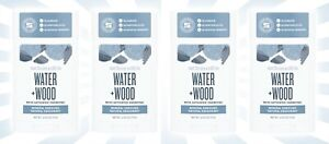 4 Schmidt's Water + Wood w/ Activated Charcoal Natural Deodorant 2.65 OZ