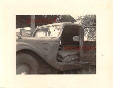 Franz. PKW Citroen 11 CV Schlafwagen Trapani Sizilien Italien