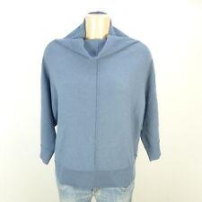 MARC O'POLO Pullover Wolle Kaschmir Knit Oversize Blau Gr. L 40 (DG65)
