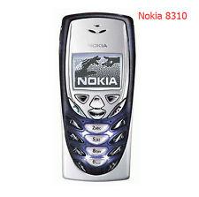 Nokia 8310 - Dark Blue (Factory Unlocked!) Classic Retro Cellular Phone.