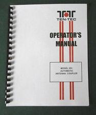TEN-TEC Radio Communication Manuals & Magazines | eBay