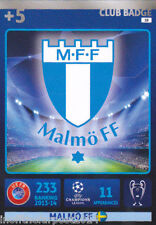 2014/15 ADRENALYN XL CHAMPIONS LEAGUE MALMO FF CARD n. 18