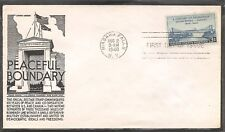 US SC # 961 A Century Of Friendship FDC.  Anderson  Cachet
