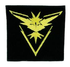 Team Instinct Yellow Pokemon Go Patch Iron on Applique Alternative Clothing Pika