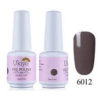 Ukiyo 8ML Soak Off UV Gel Nail Polish One Step Gel Color No Wipe Top Base Coat
