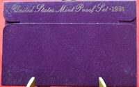 1991-S Proof Set United States US Mint - Free Shipping