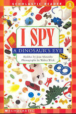 I Spy a Dinosaur's Eye Schrd by Jean Marzollo Book | NEW Free Post AU