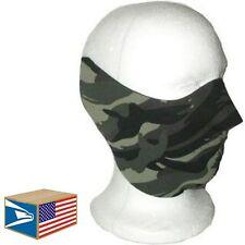 HALF FACE HEAD MASK Camo Camouflage NEOPRENE REVERSIBLEHAT  MOTORCYCLE CAP!