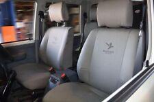 Black Duck Seat Covers for Mitsubishi Triton MN single cab Front Bucket MT622SC