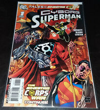 Tales of the Sinestro Corps Cyborg Superman Alan Burnett DC Comics