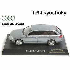 Silver Kyosho 1:64 AUDI A6 Avant Diecast Model Car Mint 1/64 2007 limit edition
