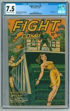 Fight Comics #41 CGC 7.5  (Fiction House, 12/1945) Joe Doolin Bondage Cover