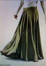 Tazim Soft Rayon Maxi Skirt Sz S