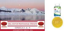1200 MG Antarctic Red Krill Oil 60 Softgels Professional Formula Mega