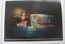Paul Klee  Poster of  The Seafarers Painting 14x11 Offset Lithograph Unsigned