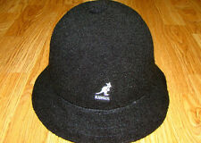 Mens Classic Kangol Bermuda Casual Bucket Cap Color Black M