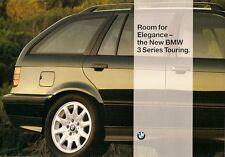 BMW 3-Series Touring E36 1995 UK Market Launch Foldout Sales Brochure 320i 328i