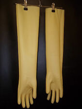 sehr lange Tri-Polymer- Gummihandschuhe,Industriehandschuhe,Latex Gloves,XL-10,0