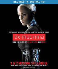 Ex Machina (Blu-ray Disc, 2015) - No Digital Code