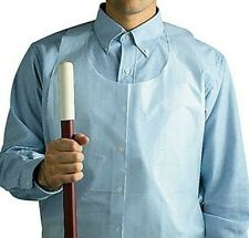 """Economy Disposable Poly Apron, Clear, 28"""" x 46"""" Pack of 100, One size fits all"""