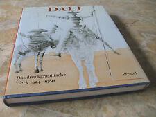 SALVADOR DALI,Das druckgraphische Werk 1924-1980,kompl.Werkverz.Radierungen