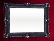 Espejos decorativos negros sin marca para el baño