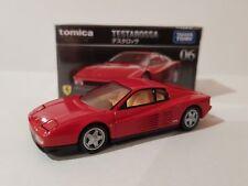 Tomica Premium - Ferrari Testarossa [RED] - sealed and unopened box.