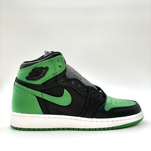 Jordan 1 Retro High Pine Green Black GS Sz 5 Y / 6.5 Women 575441-030 NEW