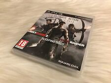 Ultimate Action - Just Cause 2 / Sleeping Dogs / Tomb Raider Playstation 3 (PS3)