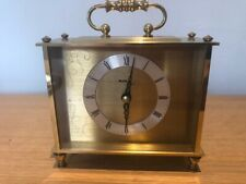 Vintage Brass Carriage / Mantel Clock by Avia
