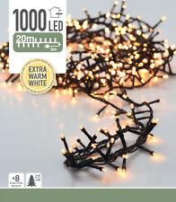 LED-Lichterkette - 1000 LED - Extra Warm Weiß - 23m