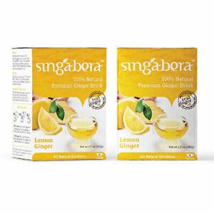[SINGABERA] Premium Lemon Ginger Instant...