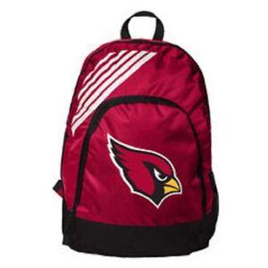 Arizona Cardinals BackPack Back Pack Book Sports Gym School Bag Border Stripe