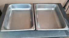 Winco – Sph2 - 1/2 Size 2 1/2 in Deep Steam Table, Hotel Buffet Pans