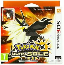 Dnd Egp219870 Nintendo 3ds Pokemon Ultra Sun Steelbook Limited Edition