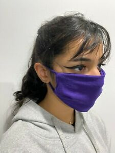 Double Layered Face Cover- 50/50 Poly/Cotton