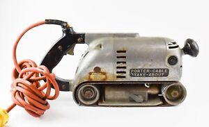 Works! Vintage Porter+Cable Type A3 9 Amp Belt Sander  - AD60