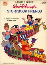 Disney storybook coloring book RARE UNUSED