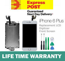 for iPhone 6 PLUS White LCD Touch Screen Digitizer Complete & Camera Home Button
