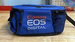 CANON EOS Fanny Pack Waist Bag Blue Camera Bag Never Used