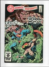 DC Comics Presents #75 (1978 series) Superman and Wonder Woman High Grade VF 8.0