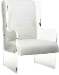WINGBACK CHAIR WING ARCTIC POLYURETHANE ACRYLIC POLY