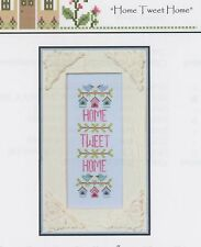 Country Cottage Needleworks Home Tweet Home  Sampler Cross Stitch Pattern