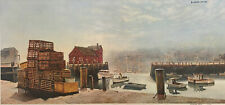 Rockport by Wellington Ward Limited Edition Signed / Numbered Print Shipyard