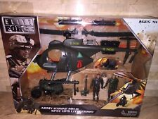 ELITE FORCE ARMY STRIKE MH-6 SPEC OPS LITTLEBIRD HELICOPTER PLAYSET