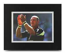 Lawrence Dallaglio Signed 10x8 Photo Display Wasps Rugby Memorabilia Autograph