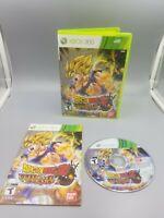 Dragon Ball Z: Ultimate Tenkaichi (Microsoft Xbox 360, 2011) complete