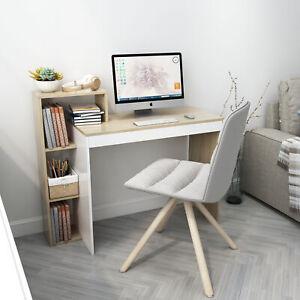 Computertisch Eckschreibtisch Schreibtisch PC Bürotisch Arbeitstisch mit Regal