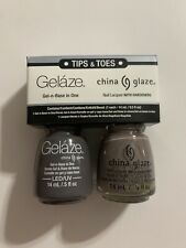 CHINA GLAZE - Duo Gelaze Gel Color + Nail Polish Lacquer * Recycle